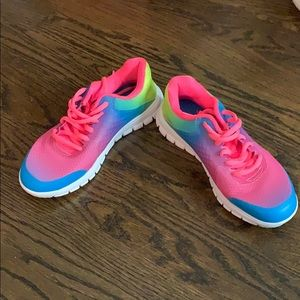 Rainbow fila sneakers never worn